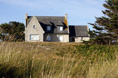 House in Brittany. Typical house in Cote d'Armor in Brittany in west of France Stock Photography