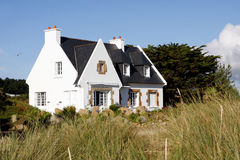 House in Brittany Stock Images