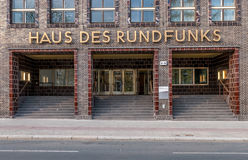 House of Broadcasting - Haus des Rundfunks, Berlin. Germany Stock Photography