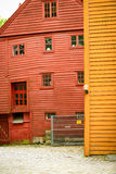A house in bryggen Royalty Free Stock Images
