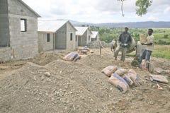 House Builders, Cabarete, Dominican Republic Stock Photo