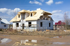 House building Royalty Free Stock Image