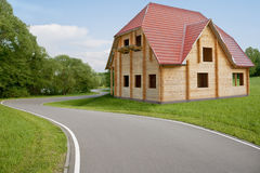 House building Stock Photography