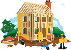 House building Royalty Free Stock Photos