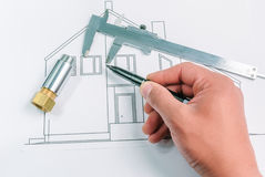 House-building Stock Photos