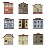 House and building set. Royalty Free Stock Images