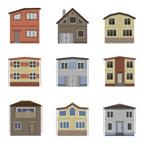 House and building set. Stock Photography