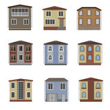 House and building set. Royalty Free Stock Photography
