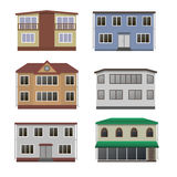 House and building set. Royalty Free Stock Photos