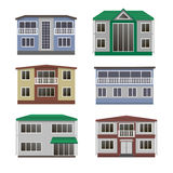House and building set. Stock Photo
