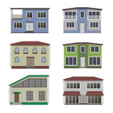 House and building set. Stock Image