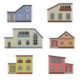 House and building set. Stock Images