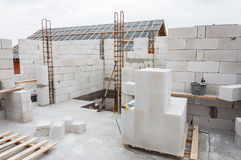 House building work place Stock Photography