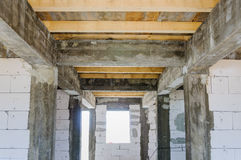 House building work place Royalty Free Stock Photography