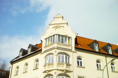 House built in 1904. Art Nouveau house in Rosenheim Royalty Free Stock Images