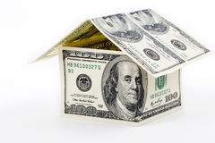House built with American money Stock Images