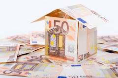 House built with European money Stock Photos