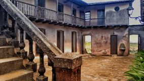 Slave& x27;s House. House built by Jorge Torres in 1818 to commercialize slaves. Brazil-Areia PB stock photography