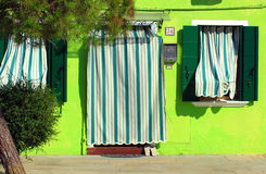 House in Burano, Venice lagoon, Italy Royalty Free Stock Images