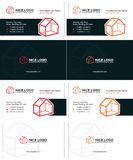 House business card 1 Stock Images