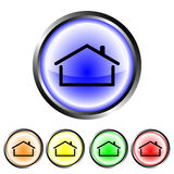 House buttons Royalty Free Stock Photo
