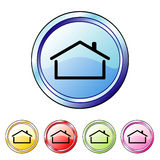 House buttons Royalty Free Stock Images
