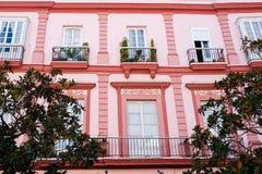 House in Cadiz Royalty Free Stock Photo