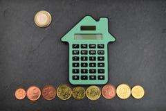 House Calculations Euro Stock Photos