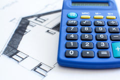 House calculator Royalty Free Stock Image