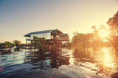 House in Cambodia Stock Photography