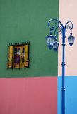 House on Caminito street. Colourful street view from La Boca, Arentinia Stock Photo