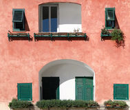 House in Camogli Royalty Free Stock Photos