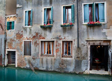House on the canal Stock Photography
