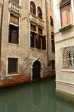 House on canal in Venice, Italy Royalty Free Stock Photos