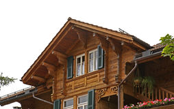 House in canton of Bern. Switzerland Royalty Free Stock Photography