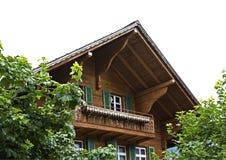 House in canton of Bern. Switzerland Stock Photos