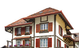 House in canton of Bern. Switzerland Royalty Free Stock Photo
