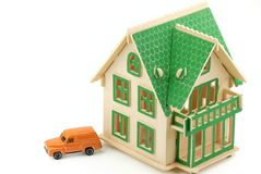 House and car Royalty Free Stock Photo