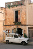 House And Car In Mallorca Royalty Free Stock Photo