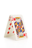 House of cards. Royalty Free Stock Photos