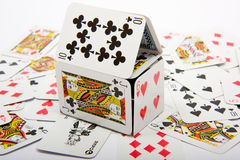 House of Cards Royalty Free Stock Photography