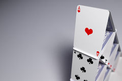 House of cards Royalty Free Stock Photos