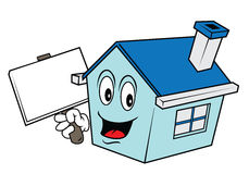 House cartoon Stock Photo
