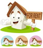 House Cartoon Mascot - For Rent