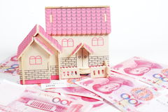 House and cash Stock Image