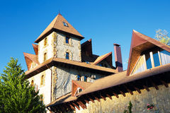 House in casle style Royalty Free Stock Image