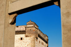 House in a castle style. Against blue sky,in Guangdong, China Stock Photos