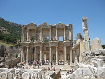 The house of Celsius, Efes Stock Images