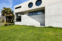 House in cement, outdoor Stock Photos