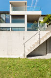 House in cement,  outdoor Royalty Free Stock Photos